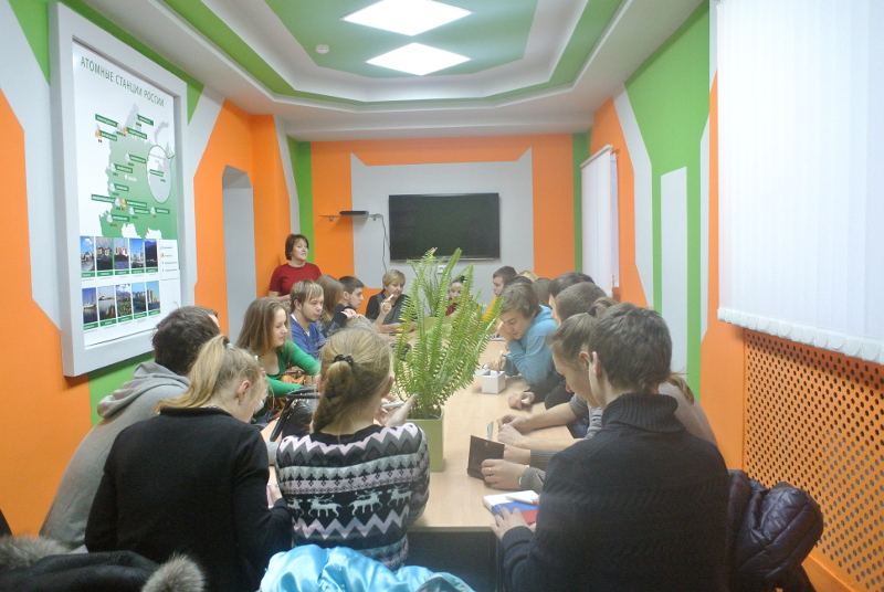 Фото к На базе информационного центра состоялось заседание Совета старшеклассников школ города Екатеринбурга