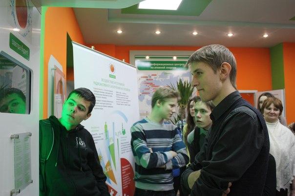 Фото к Информационный центр по атомной энергии встречает победителей и призеров регионального этапа всероссийской олимпиады школьников в Свердловской области