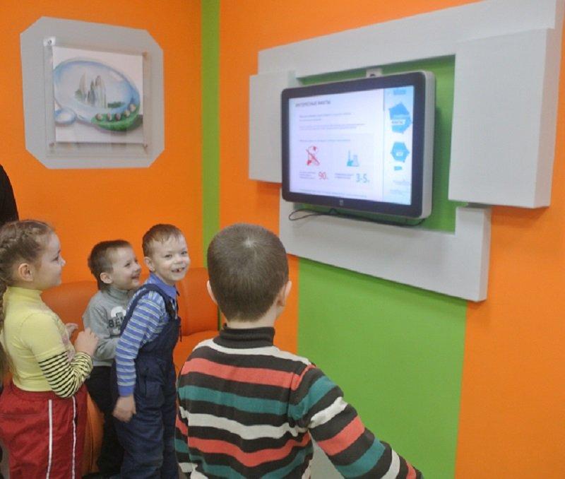 Фото к Сегодня, 16 марта, в Информационном центре по атомной энергии были не совсем обычные гости — воспитанники детского сада № 511 г. Екатеринбурга