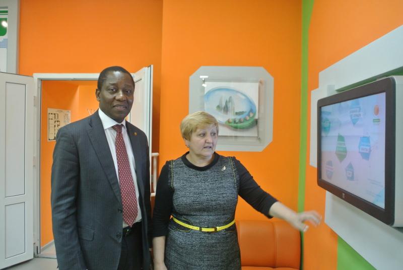 Фото к Посол республики Бенин в РФ посетил Информационный центр по атомной энергии в Екатеринбурге