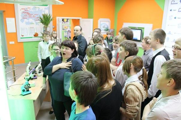 Фото к Уральский завод газовых центрифуг  посетил информационный центр по атомной энергии в рамках проекта «Первый шаг в атомный проект»