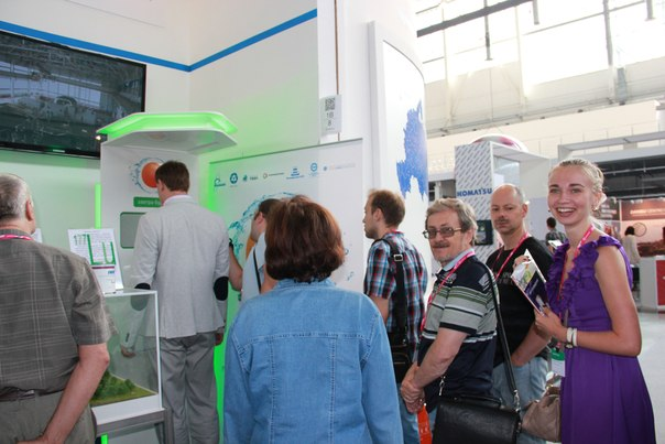 Фото к Информационный центр по атомной энергии стал участником выставки «Иннопром — 2013»