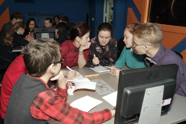 Фото к 21 марта информационный центр по атомной энергии Екатеринбурга  собрал самых умных, самых сообразительных, самых, самых, самых на I Всероссийский синхронный чемпионат по интеллектуальным играм среди школьников «Формула интеллекта».