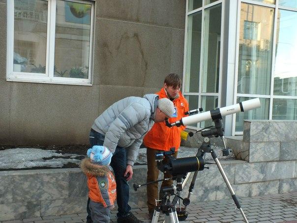 Фото к Информационный центр помог сделать «звезды… чyть ближе»