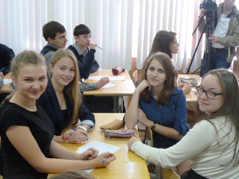 Фото к 480 учеников новоуральского Лицея № 58 приняли участие в Дне науки