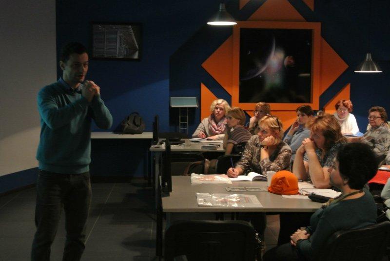Фото к Мастер-класс для педагогов, или как заинтересовать школьников наукой